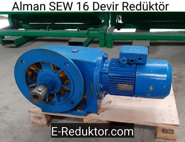 Alman SEW 16 Devir Redüktör