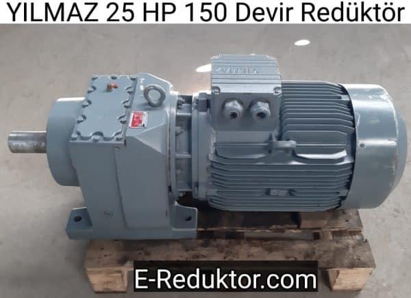 Yılmaz 25 HP Redüktör