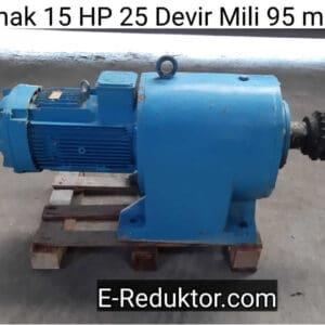 15 hp redüktör