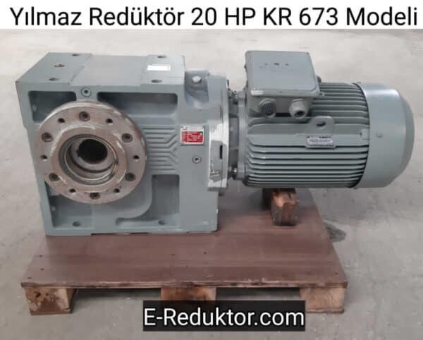 20 HP KR 673 Gövde Redüktör
