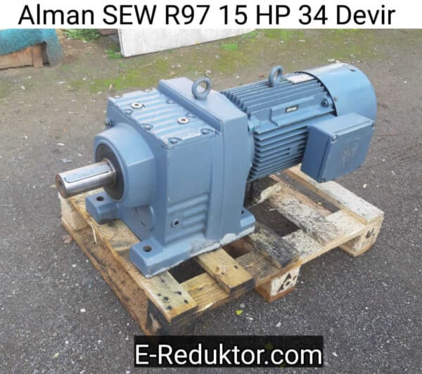 SEW R97 15 HP Redüktör