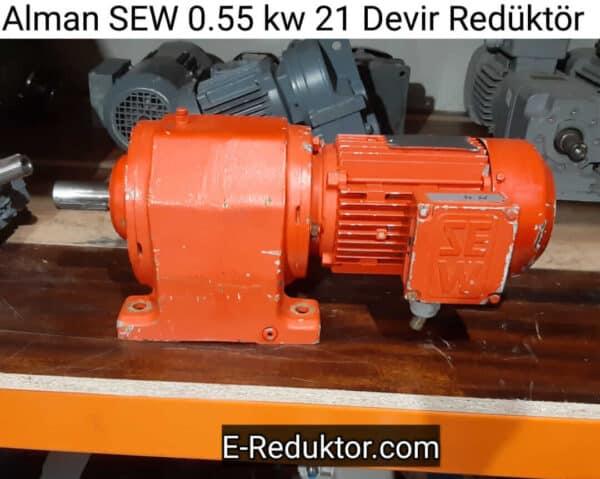 SEW 0.55 Kw 21 Devir Redüktör